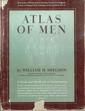 "Portada de ""Atlas of Men"" de William H. Sheldon"