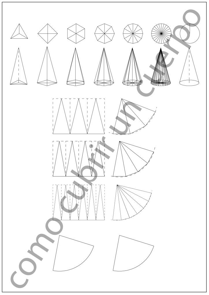 piramide a cono
