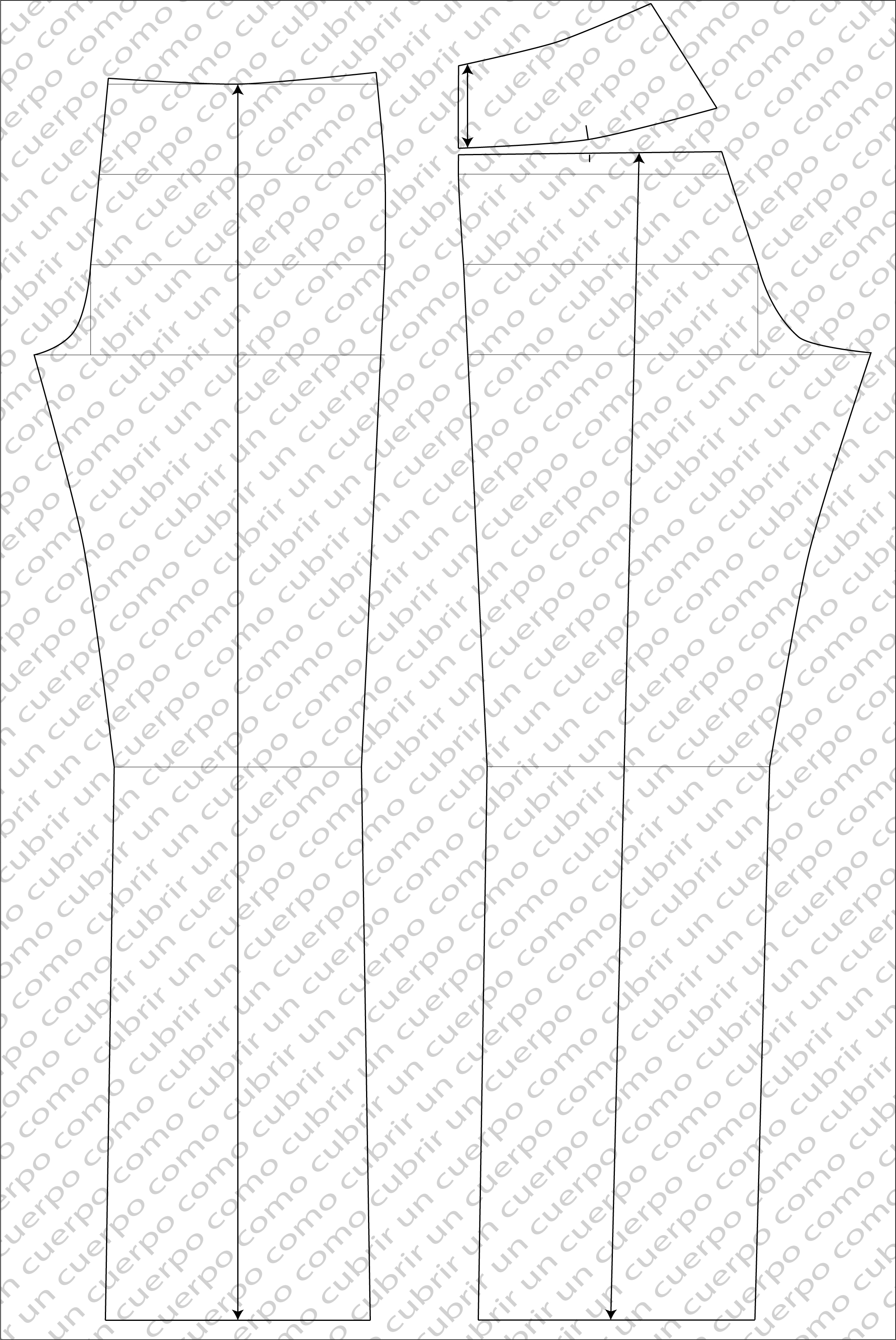El canesú del pantalón Jeans Vaquero o Yin | Cómo cubrir un cuerpo
